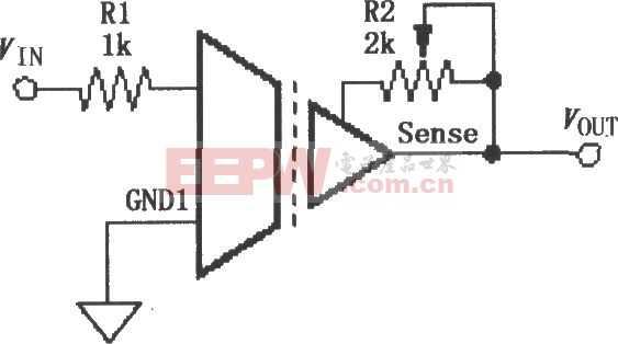 ISO120/121的增益调节电路图