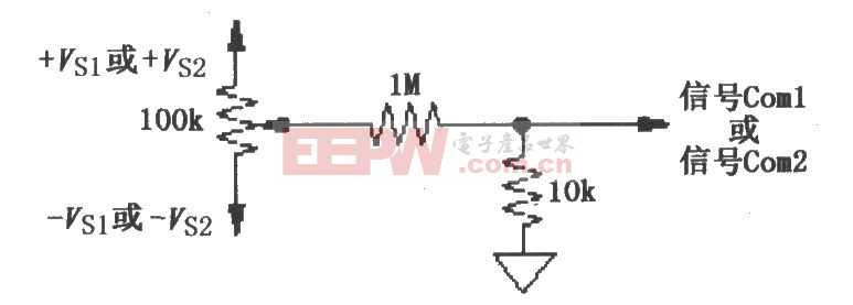 ISO120/121的失调电压调整电路图