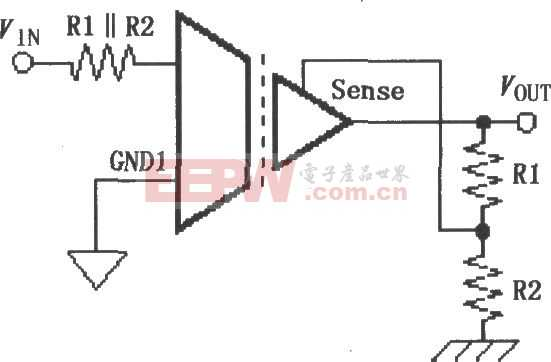 ISO120/121的增益设置电路图