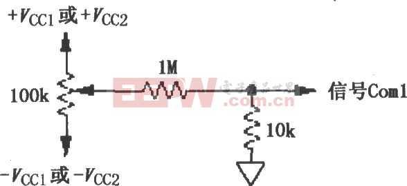 ISO113的失调电压调整电路图