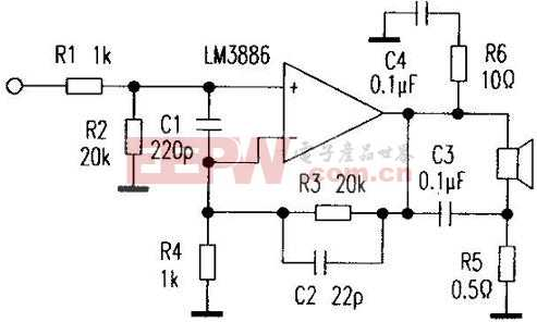 LM3886 功放电路的改进