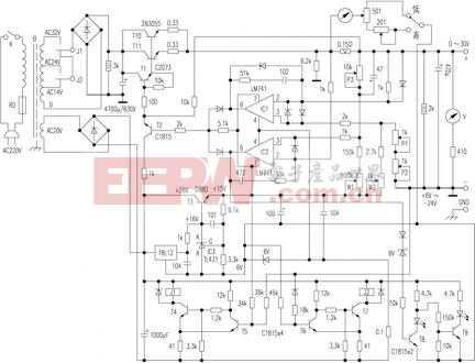 一般采用手动切换变压器的输出线圈抽头来达到降低压差的目的.