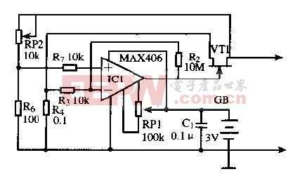 基于MAX406芯片的大功率低电阻仿真电路