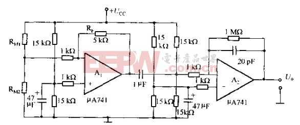 电阻组成的微弱信号放大器电路图片