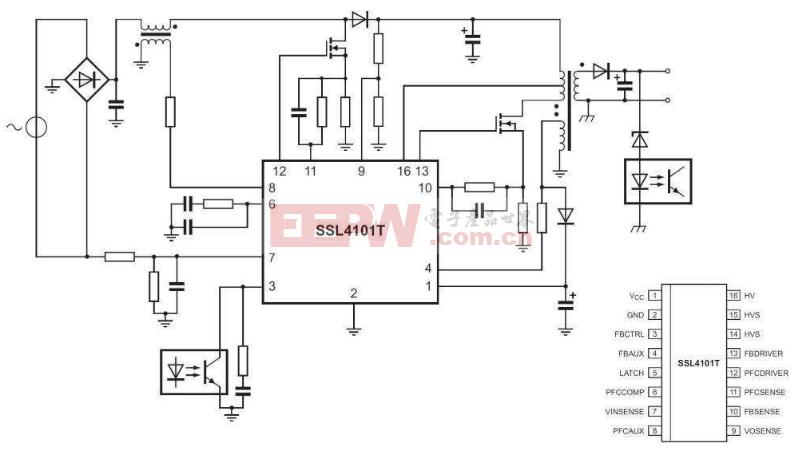 SSL4101典型应用