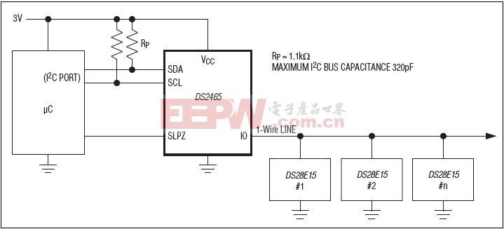 DS2465典型应用