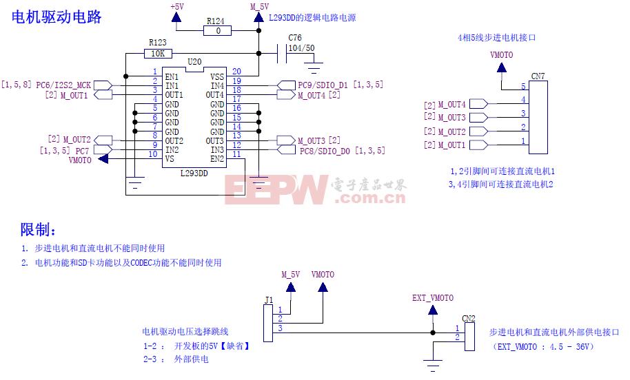 STM32电机驱动电路