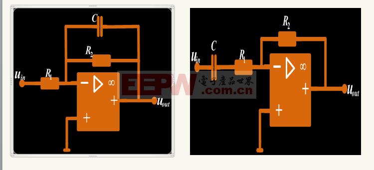 一阶滤波器参考应用电路
