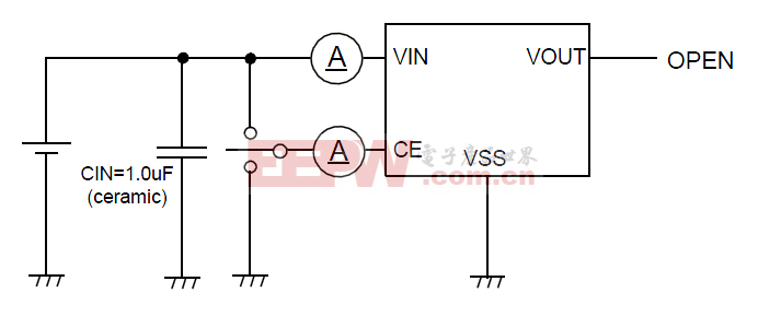 XC6215Series测试电路1