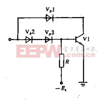 固定反偏压驱动电路原理图