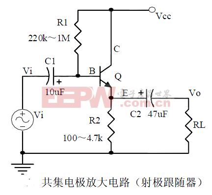 共集电极放大电路(射极跟随器