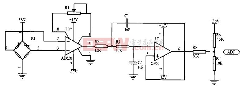 基于MSP430F149信号调理电路