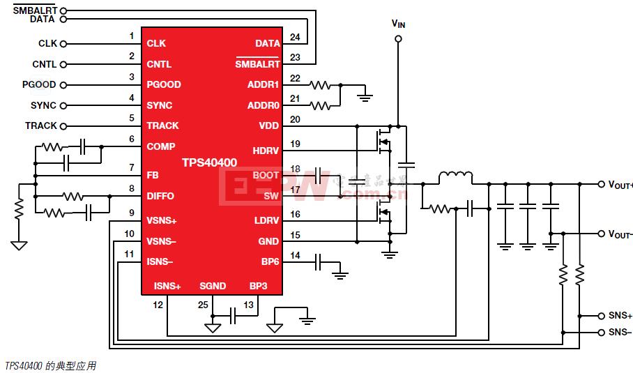 TPS440400典型应用