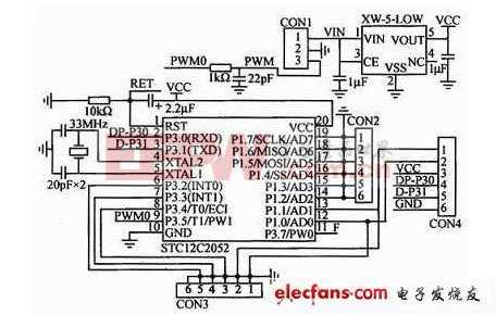 亚音频信号的硬件电路