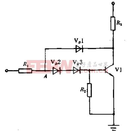 抗饱和驱动电路原理图