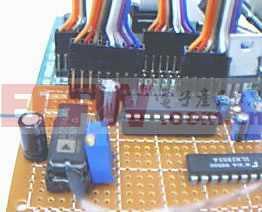 用AD595制作的温度采集仪