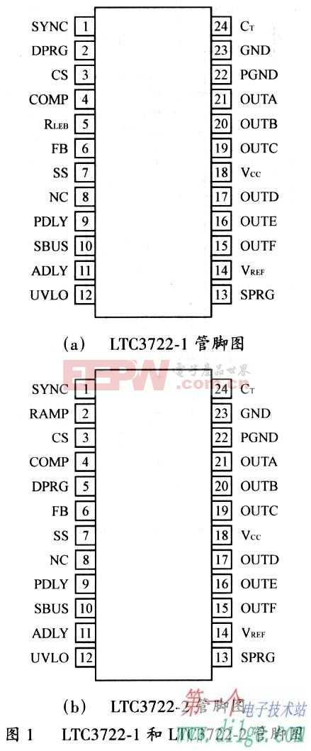 全桥移相ZVSPWM控制器LTC3722-X的原理及应用