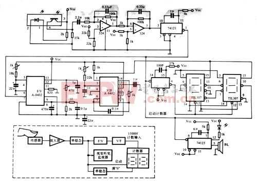 心率监视器电路原理