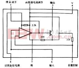 TB505助听器应用电路