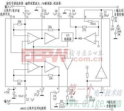 低壓動態降噪IC——LM832