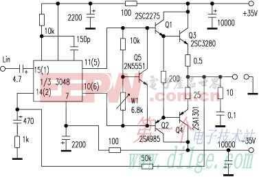 STK3048和STK6153厚膜功放的进一步改进