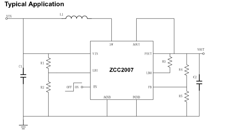 完美超越SY7066的国产同步升压芯片ZCC2007
