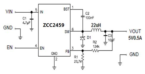 ZCC2459替代MP2459