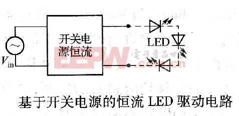 基于开关电源的恒流LED驱动电路