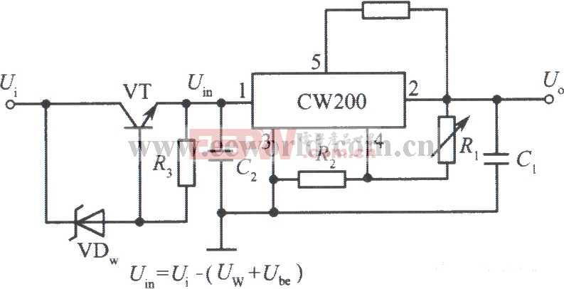 交流稳压电源电路图图片