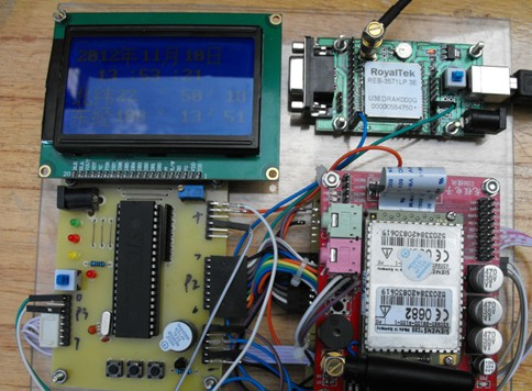 GPS追踪定位系统