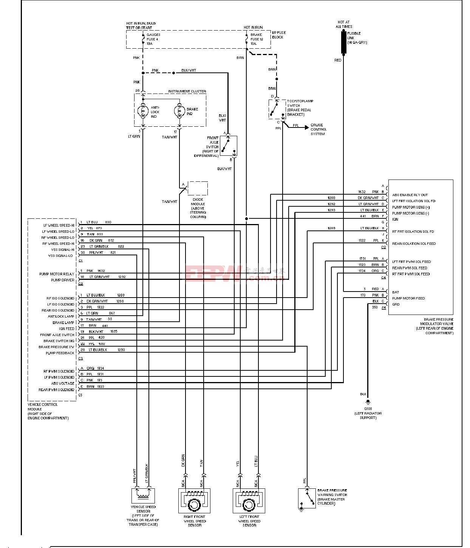 ABS防抱死制动系统电路图A