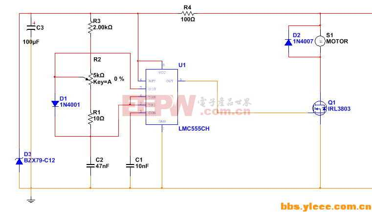 电批调速器电路