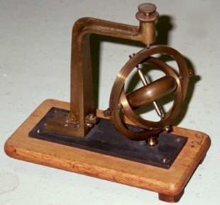 1914年开始将陀螺仪作为惯性基准构成飞机的电动陀螺稳定装置.