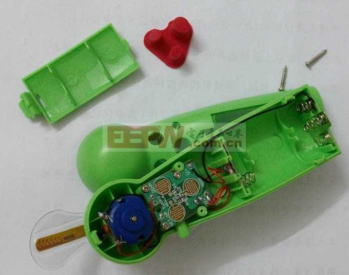 USB供电编程风扇小电路图