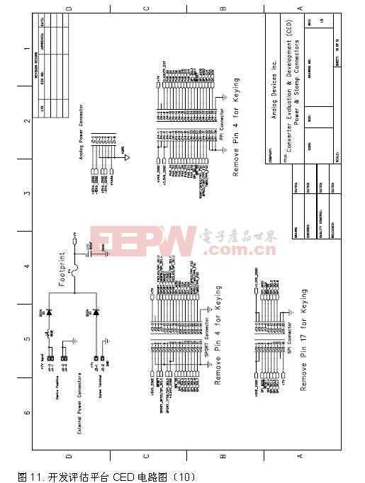 开发评估平台CED电路图10