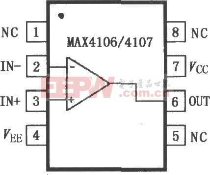 MAX4106/4107极低噪声运算放大器电路