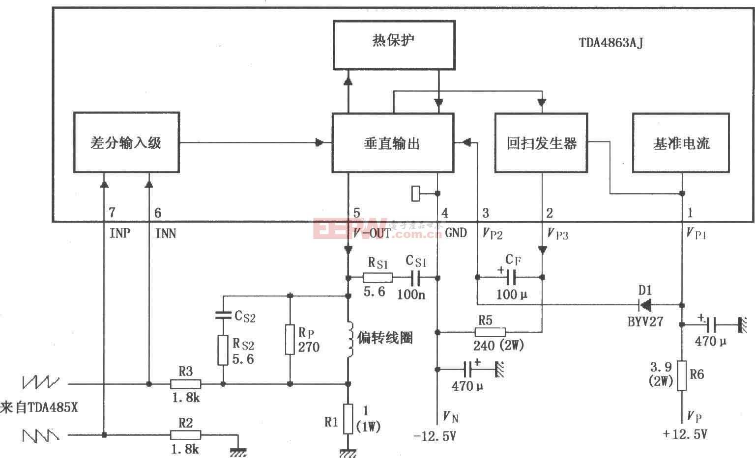 TDA4863AJ基本应用电路图(二)
