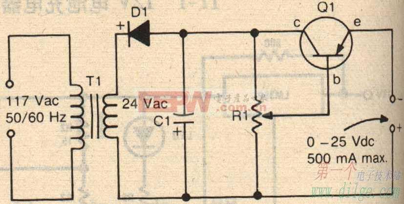 简易镍氢充电器