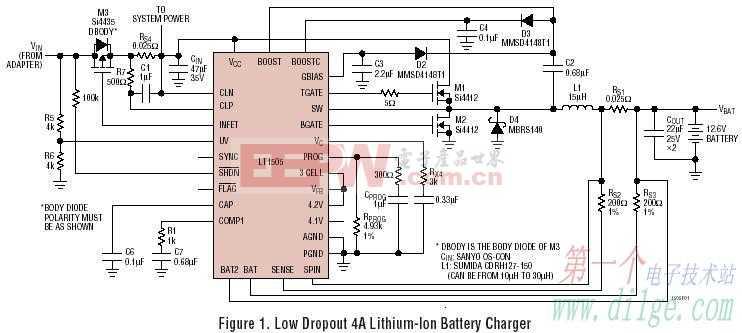 笔记本电源芯片-LT1505