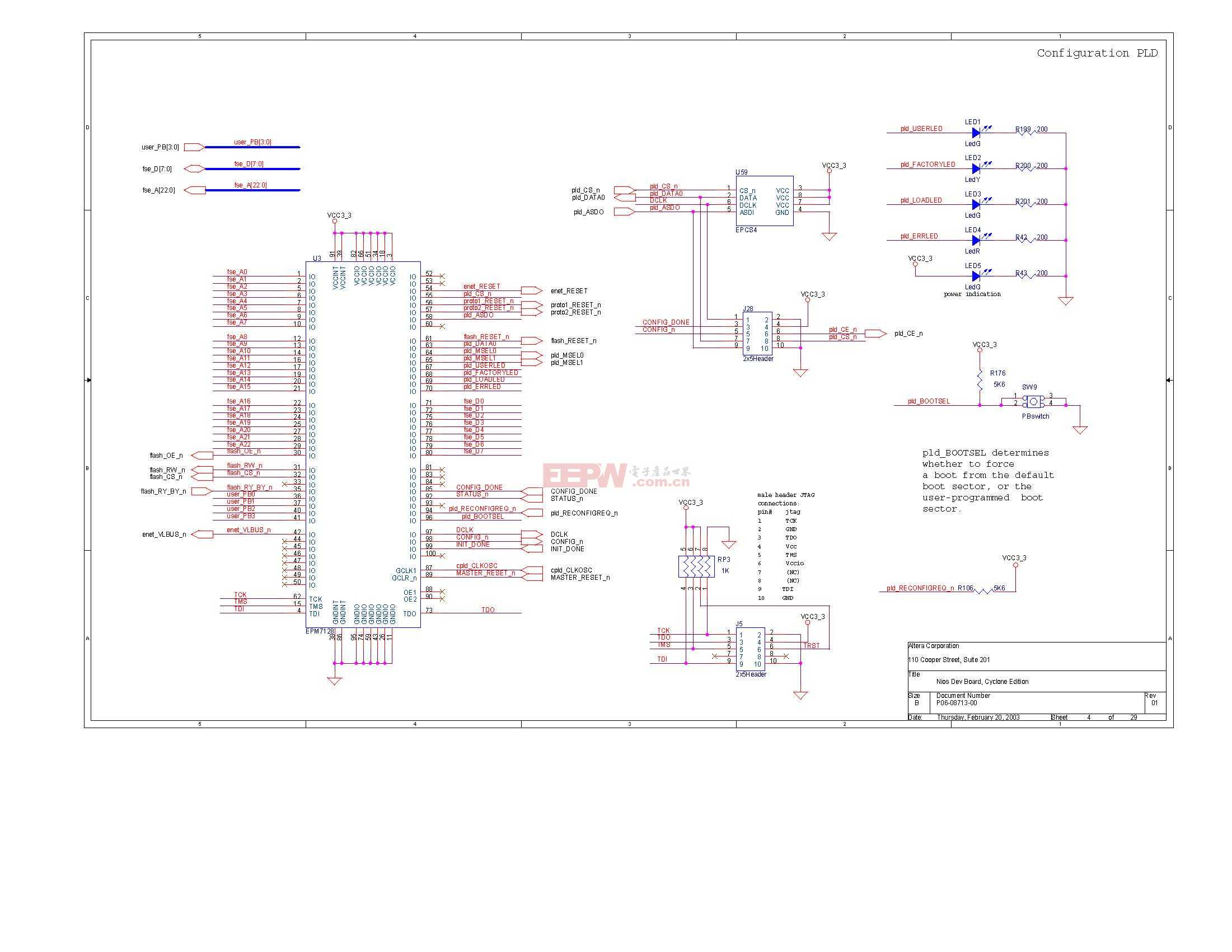 NIOS开发板电路图(Altera官方版)03