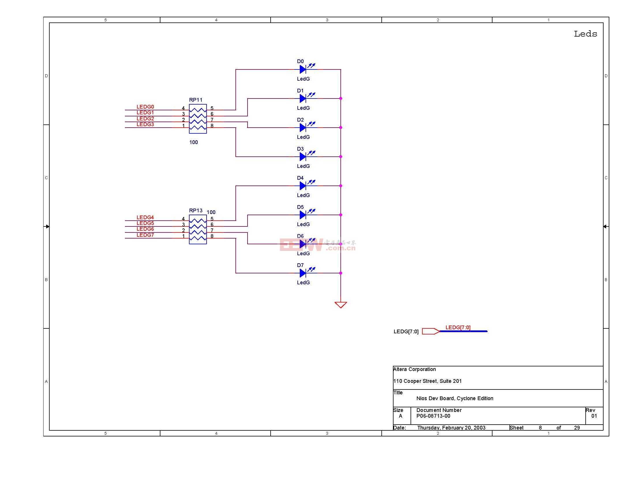NIOS开发板电路图(Altera官方版)07