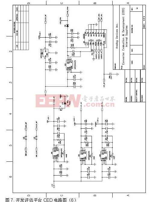 开发评估平台CED电路图6