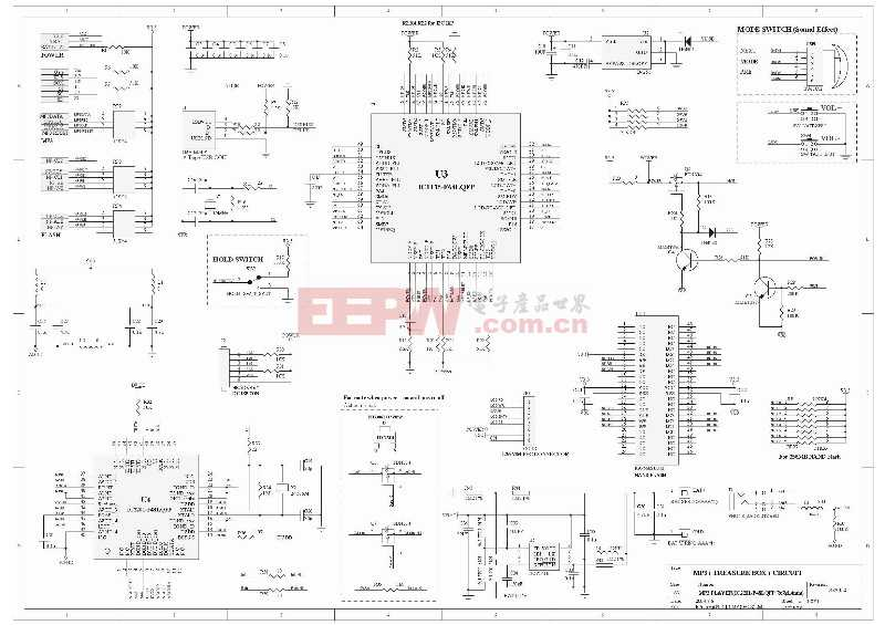 MP3 Protel Schematic 06