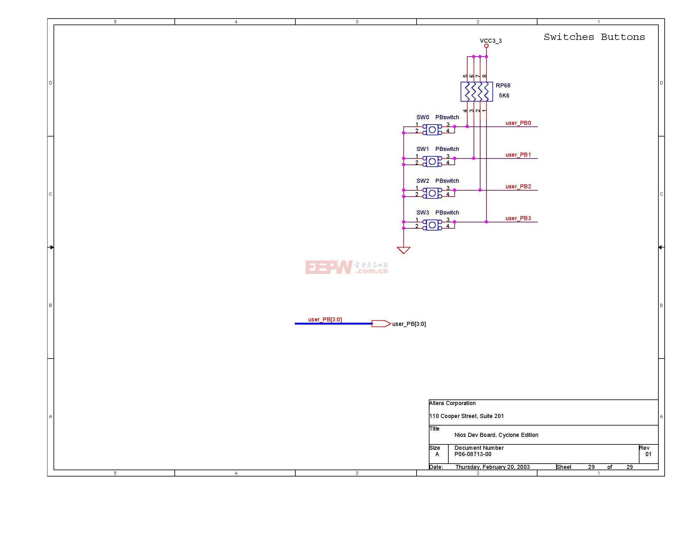 NIOS开发板电路图(Altera官方版)28
