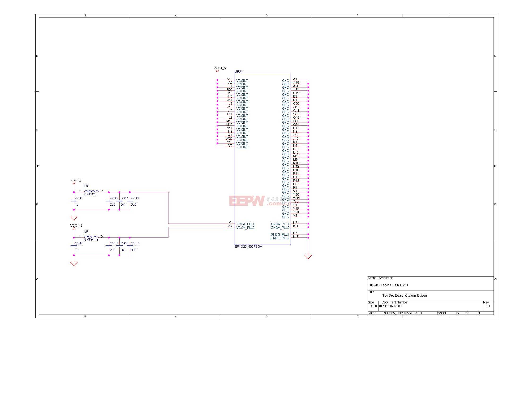 NIOS开发板电路图(Altera官方版)14