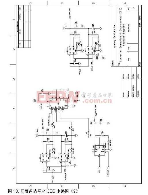 开发评估平台CED电路图9