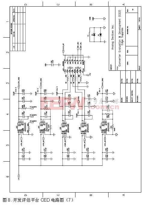 开发评估平台CED电路图7