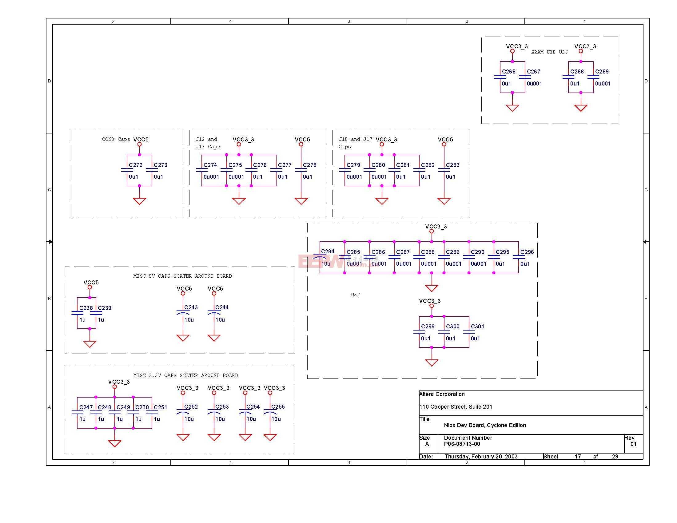 NIOS開發板電路圖(Altera官方版)16