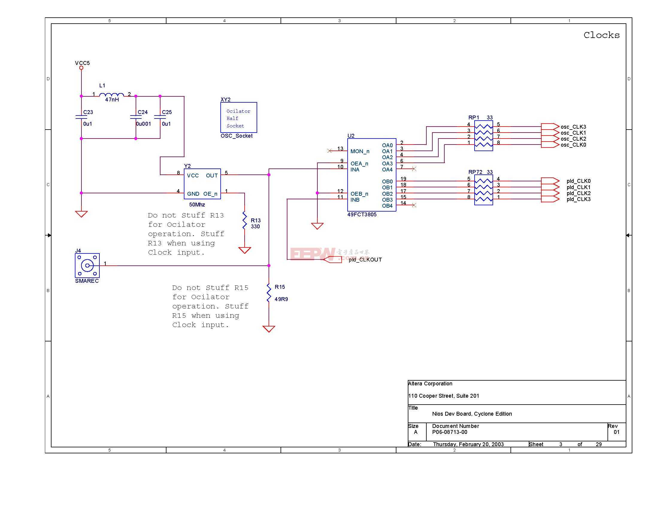 NIOS开发板电路图(Altera官方版)02