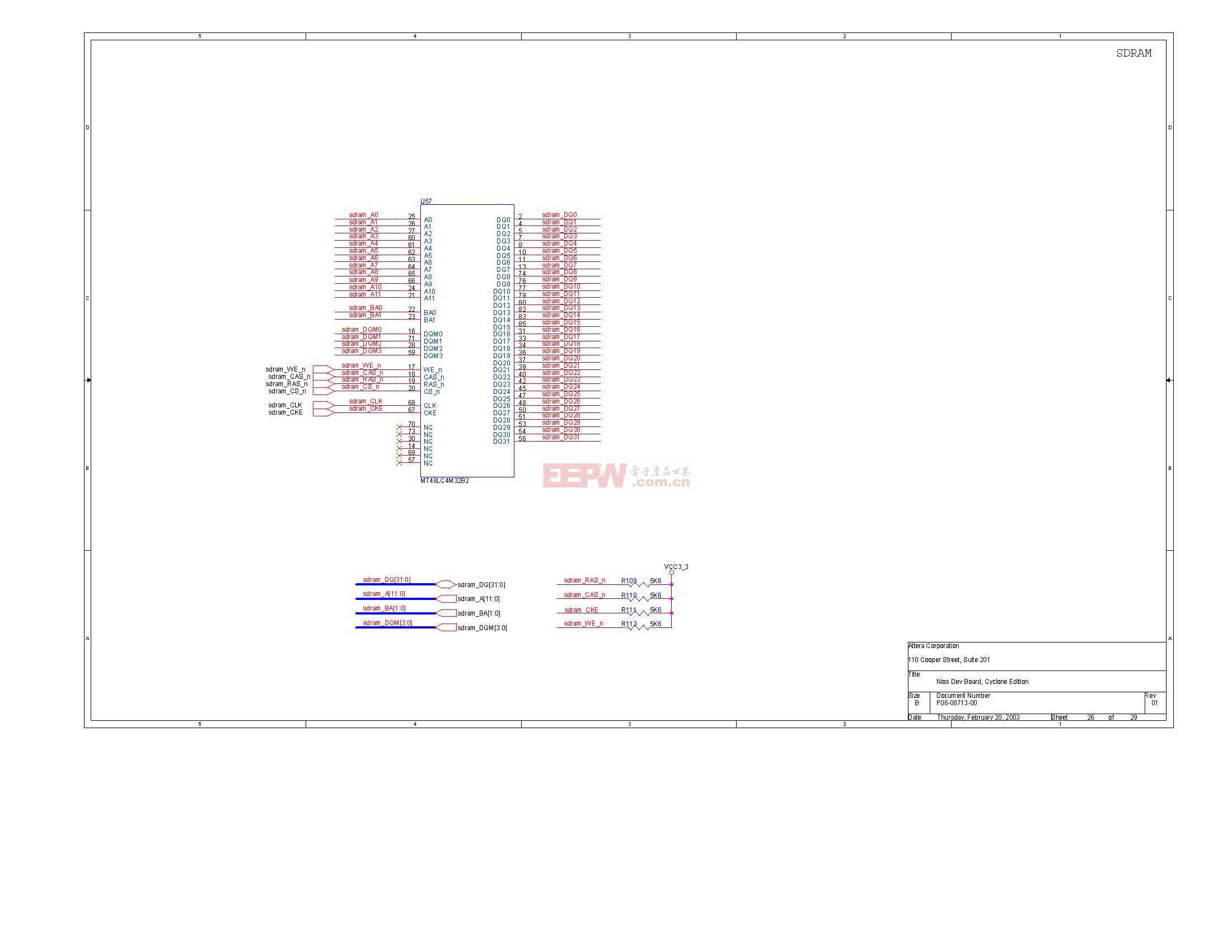 NIOS开发板电路图(Altera官方版)25